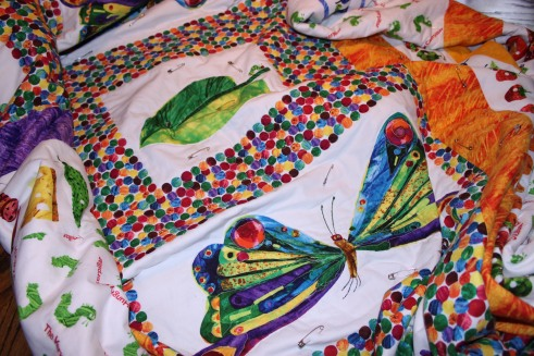 Hungry Caterpiller Quilt